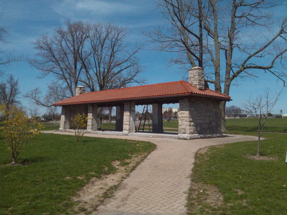 Front Park 1 Picnic Shelter restoration final