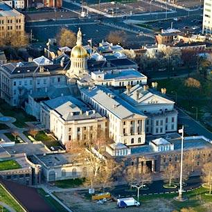 New Jersey State House overall aerial.1383471357