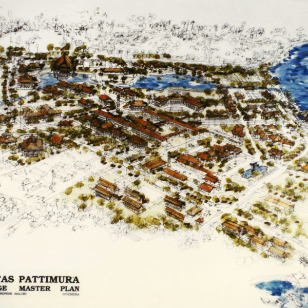 Universitas Pattimura<br/>Campus Master Plan
