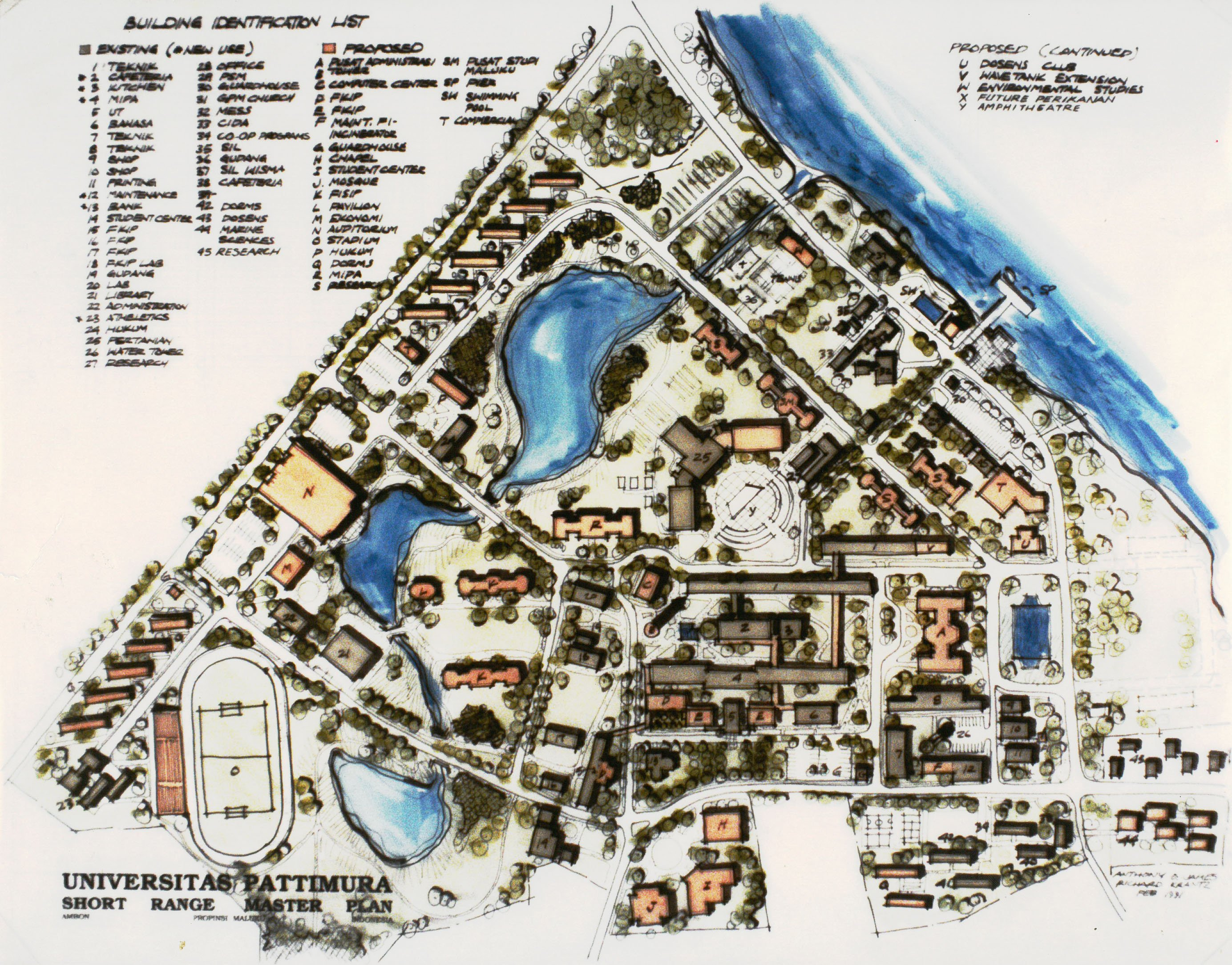 Universitas Pattimura campus Master Plan.1383471346