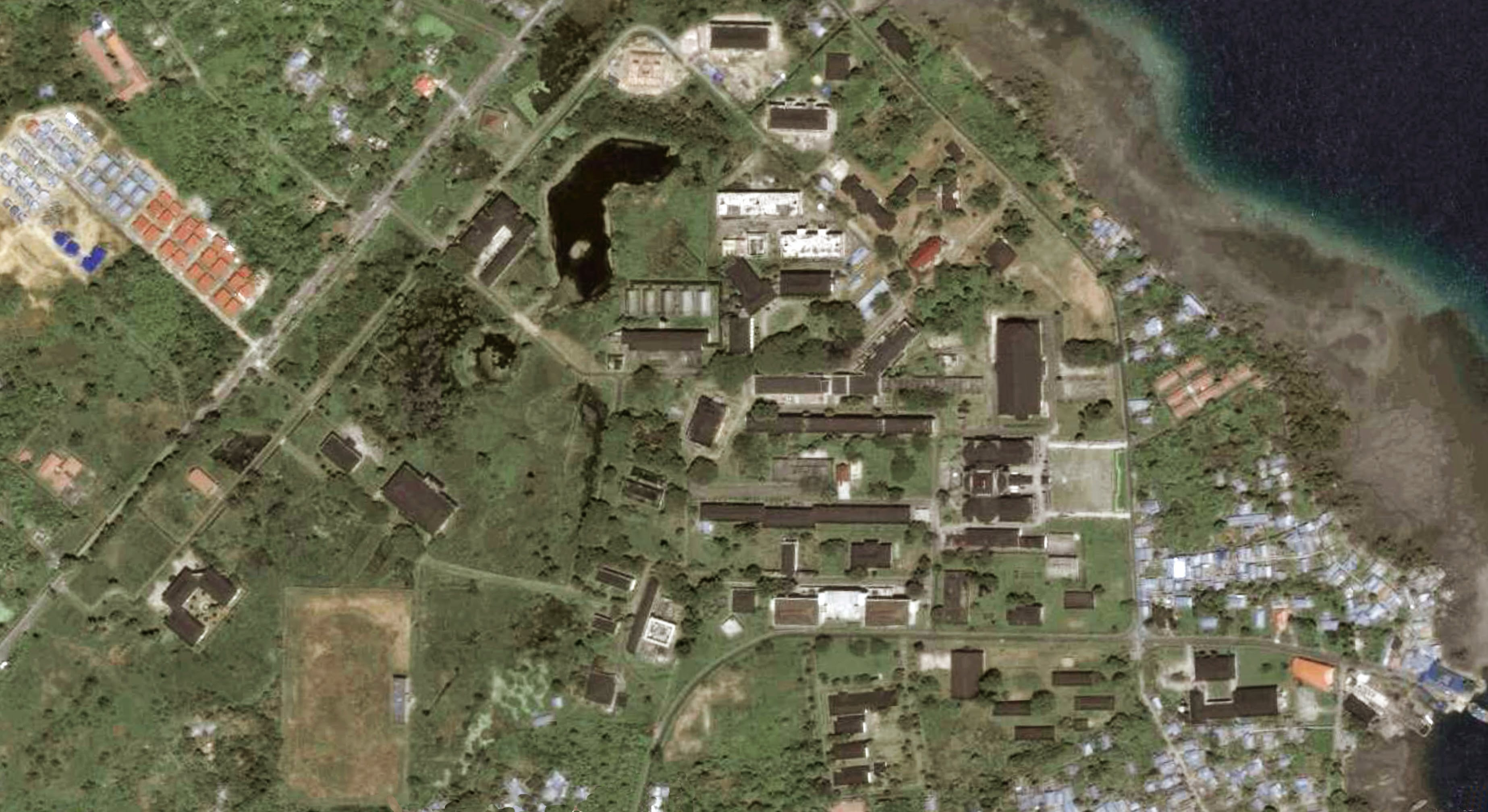 Universitas Pattimura campus aerial.1383471346